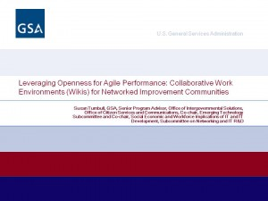 GSA on Collaboration & Sharing