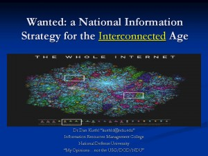 National Information Strategy Briefing