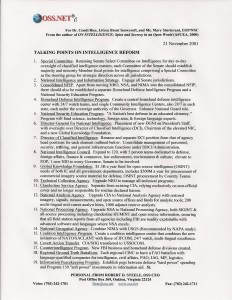 One Page on IC Reform