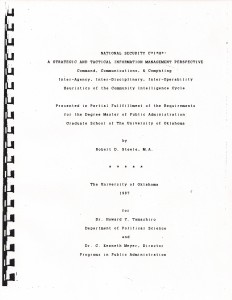 Thesis #2