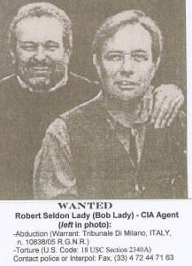 WANTED: CIA Renditiones