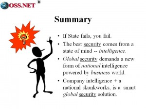 Security through Intelligence