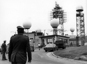 Click on Image to Enlarge - The US surveillance post at Berlin-Marienfelde where Carney worked as a US soldier and East German spy. He was transfered back to the US where he continued his espionage activities -- before ultimately moving back to East Berlin. He was arrested by the US following the fall of the Berlin Wall.