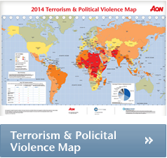 2014 terrorism and political risk map