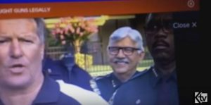 "Orlando officer winks and grins through police press conference on ""shooting."" (See video at the bottom of this article.)"